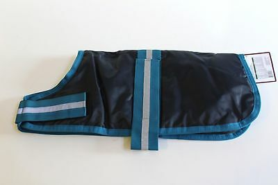 OUTDOOR DOG SAFETY VEST HORSE BLANKET COAT WITH REFLECTIVE STRIP SIZE MEDIUM NWT
