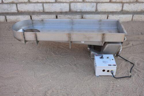 NEW RBM MAGNETIC DRIVE VIBRATORY SHAKER FEEDER CONVEYOR W/CONTROL