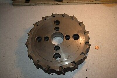 Valenite Sn6s-15-12-16-4r Face Mill 12 Milling Head Cutter