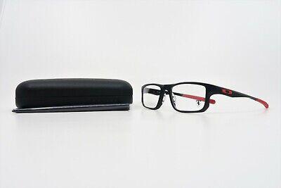 Oakley Men's Voltage Ferrari Satin Black Glasses w/ Case OX 8049 07 53mm