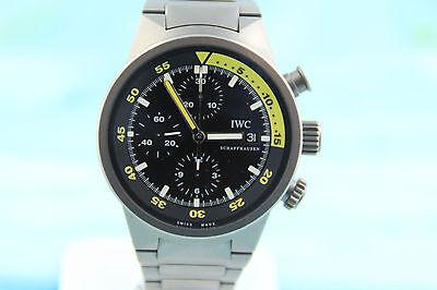 IWC Aquatimer Chronograph Automatic Titanium Men's Wristwatch