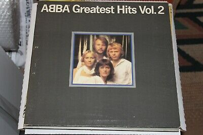 1979 Reecord Album 2 LP's ABBA Greatest Hits Vol. 2 Vinyl NM Gatefold SD 16009