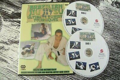 BRAZILIAN JIU JITSU Ultimate Winning Techniques DVD 2-Disc Set Gene Simco