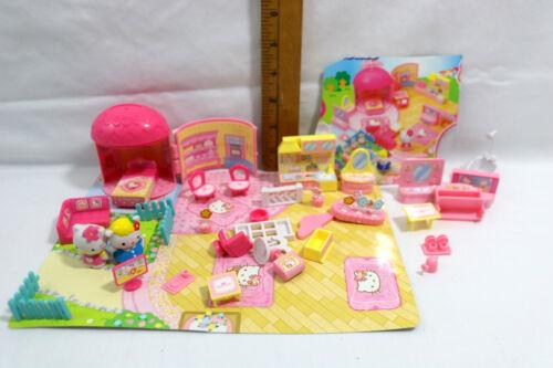Sanrio Hello Kitty Mini-Townhouse - My House Playset Play Set Lot Pieces
