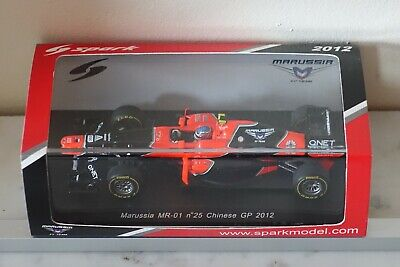 SPARK 1/43 Marussia MR-01 N°25 Chinese GP2012  S3039  Charles PIC