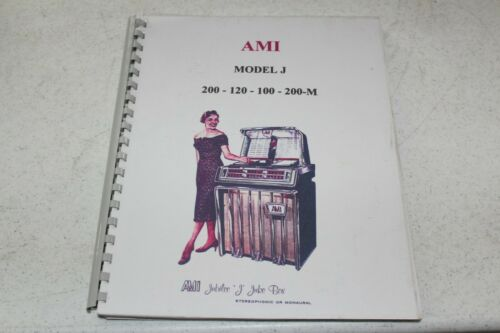 "AMI Model ""J"" Jukebox Service Manual - used"