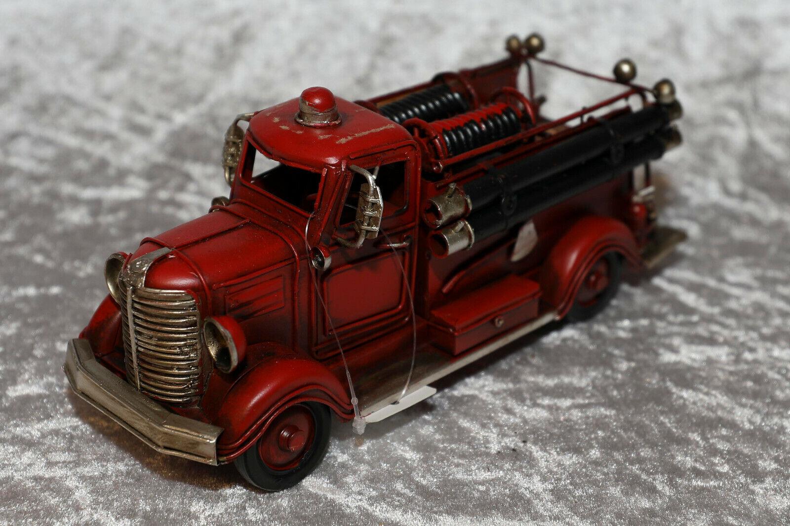 Blechspielzeug Feuerwehr Nostalgie Vintage Standmodell Deko 50er Jahre