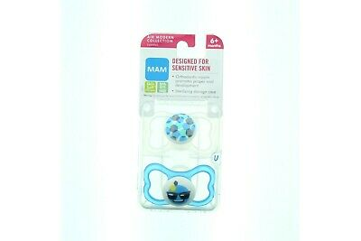 Mam Baby Pacifier Air Modern Collection 2 Pack Skin Soft BPA BPS Free 6+ Months
