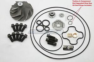 Powerstroke 7.3L Turbo Banks Wicked Wheel + Severe Duty Rebuild Repair Kit