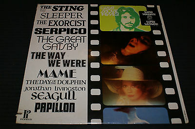 GREAT MOVIE THEMES LP 1974 RECORD EXORCIST HORROR HALLOWEEN OUT OF PRINT SEALED