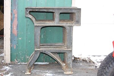 Qty. 5 Vintage Cast Iron Lathe Legs Stand Bench Table Industrial Machine Steam