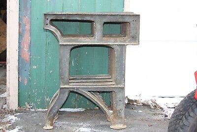 Qty. 5 Vintage Cast Iron Lathe Legs Stand Bench Table Industrial Machine