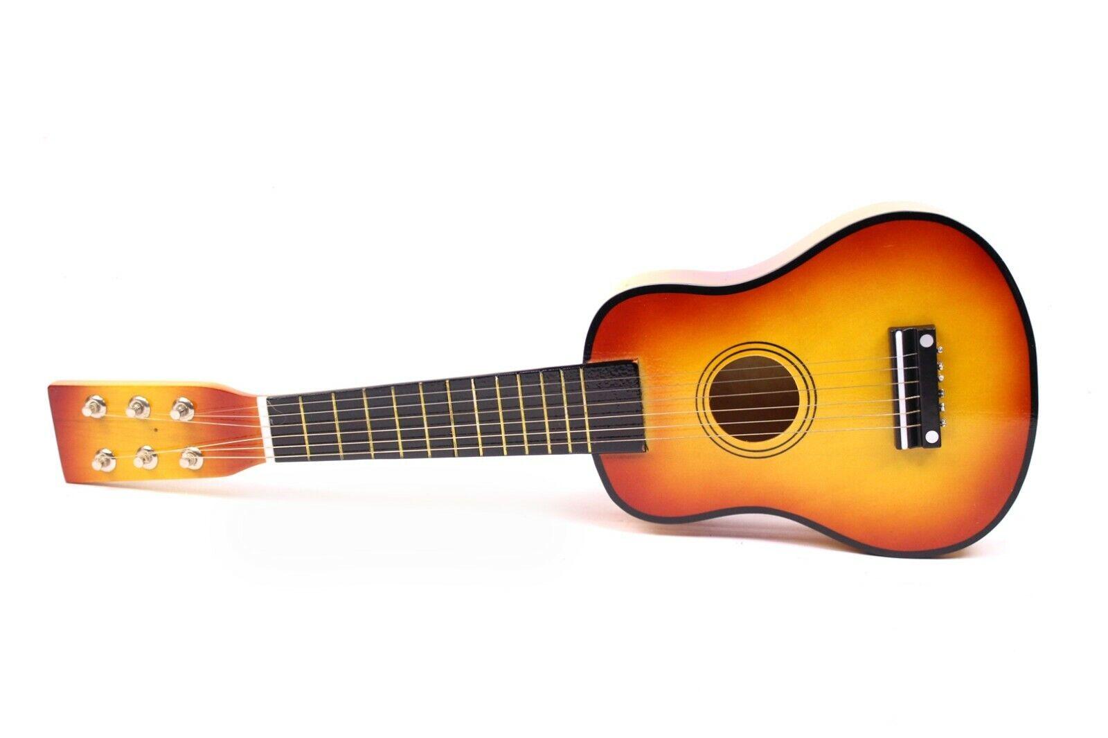 SMALL FOOT Gitarre Musikinstrument für Kinder 52 cm HOLZ Spielzeug Sunburst OVP