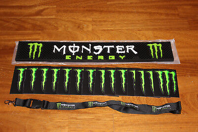 Monster Energy Original Barmatte Sticker Kralle Schlüsselband NEU