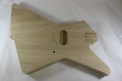 Used, Unfinished HXX Hardtail RG Jem Guitar Body -Destroyer -Fits Ibanez (tm) RG Necks for sale  Shipping to United Kingdom