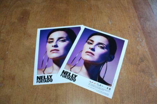 Nelly Furtado  - 2x Promo Publicity Photo /