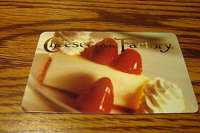 The Cheesecake Factory Gift Card No Value Never Used Or Activated Collectable
