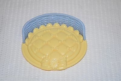 Fisher Price Snap N Style  Blue & Yellow Dog Bed Replacement Part Add-on