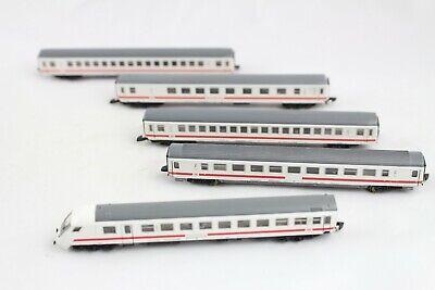 87756 Intercity Express Train Wagon Set 5 Pieces Märklin Mini Club Z Gauge + for sale  Shipping to United Kingdom