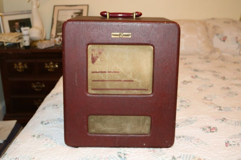 Vintage 1950s Webster Chicago RMA 375 166-1 Guitar/PA/Phono Amplifier