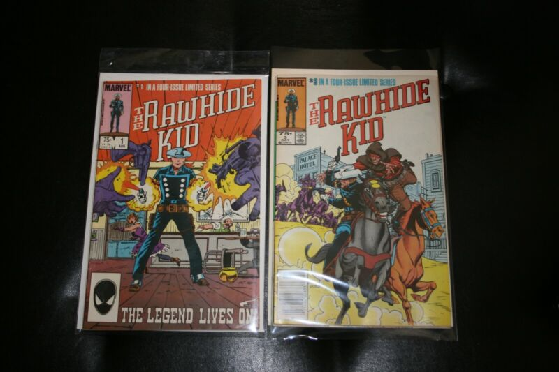 Rawide Kid Comics, 1985, Limited Series 1-4, VF