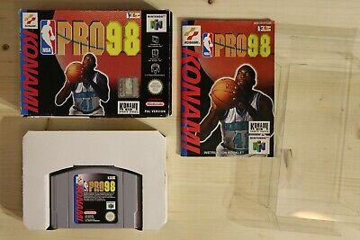 NBA Pro 98 - OVP/Boxed Nintendo 64 N64 PAL