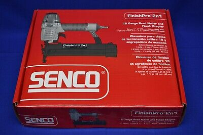 SENCO 2D0201N FinishPro 2n1 18 Gauge Brad Nailer & 1/4