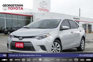 2015 Toyota Corolla LE|BACKUP CAM|HEATED SEATS|BLUETOOTH|A/C