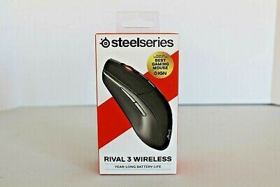 SteelSeries Rival 3 Wireless RGB Lighting Gaming Mouse - Black *OPEN BOX*