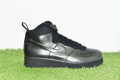 aeb35c6d01563 New Nike Air Force 1 Foamposite Cup Size 10.5 Triple Black AH6771-001 Men s