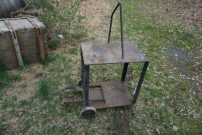 Heavy Duty Homemade Welding Cart 28l X 20w X 33h
