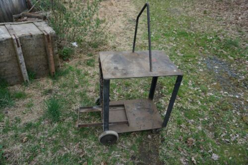 "Heavy Duty Homemade Welding Cart 28""L x 20""W x 33""H"