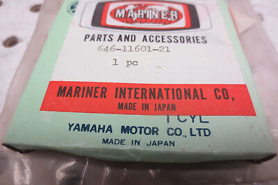 YAMAHA 2HP outboard motor GENUINE NOS PISTON RINGS 646-11601-21   .50  oversized, used for sale  Shipping to South Africa