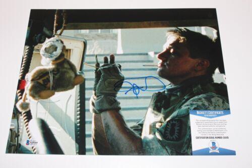 JEREMY RENNER SIGNED THE HURT LOCKER 11x14 MOVIE PHOTO BECKETT 1 COA AVENGERS