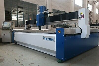 Accurl Usa Proseries Waterjet Cutting Machine - 60000 Psi Omax Flow Hornet