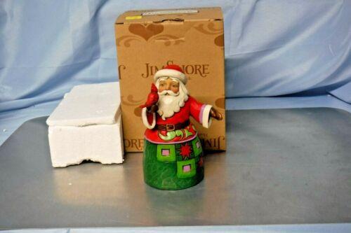 """Jim Shore - Heartwood Creek - Santa with Cardinal """"Festive Friends"""" 4034368 (JS3"""