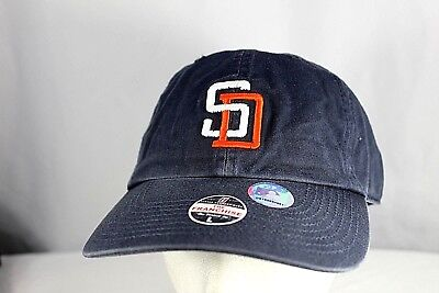 bd3c1184e91 San Diego Padres Blue Baseball Cap Fitted L