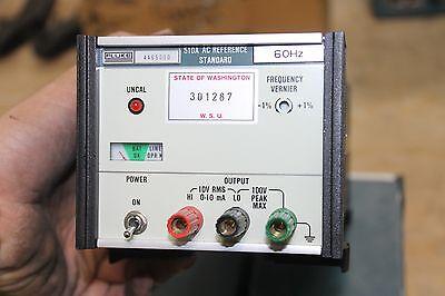 Fluke 510a Ac Reference Standard Working