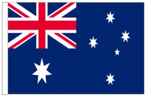 Australia Sleeved Courtesy Flag ideal for Boats 45cm x 30cm