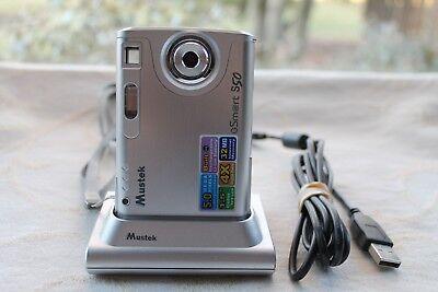 "Mustek GSmart S50 5MP Digital Camera with 4x Digital Zoom & 1.5"" LCD Dock Manual"