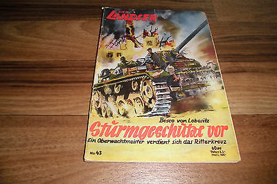 LANDSER # 43 -- STURMGESCHÜTZE VOR // Original-Druck 1960er