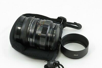 Black Konica Hexanon 57 mm F 1.4 for SONY NEX e-mount adapted lens bundle TESTED