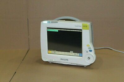 Philips Mp30 M8002a Intellivue Color Patient Monitor