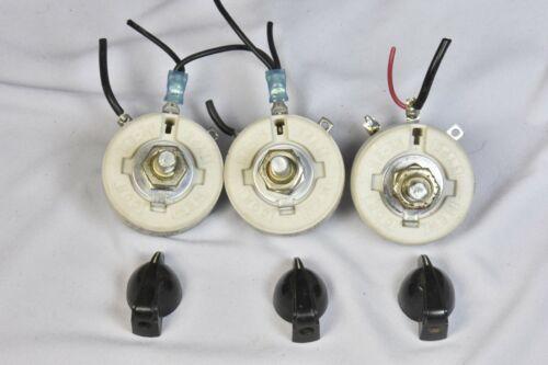 Memcor Rheostat Resistor 425 ohms 25 watt with top dials