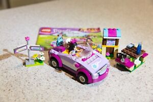 Lego Friends Set - 41013 Emma's Sports Car - complete