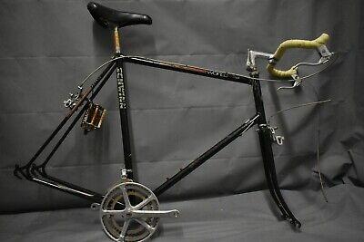 """1985 Schwinn Mesarunner City Hybrid Bike Frame Set X-Large 21/"""" Steel USA Charity"""