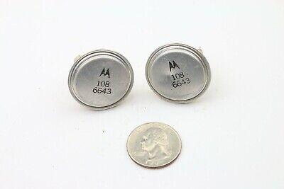 Vintage Transistor Motorola Pn 1086643 To-36 Lot Of 2