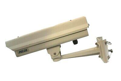 Pelco Eh3515-1 Outdoor Enclosure Wpa101 Pole Mount And Panasonic Wv-co244 Cctv