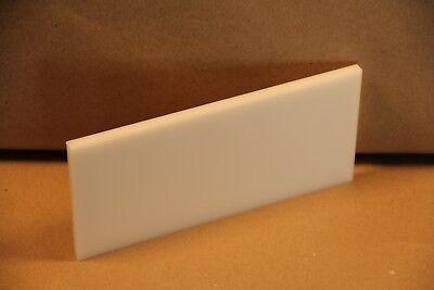 14 Delrin Block Natural Acetal Sheet 3 38x7 14 Cnc Millstock Plastic 3879
