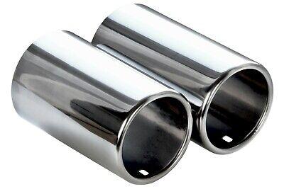 F BLENDE aus EDELSTAHL ENDROHR für TDI, L132 x B150 mm [LIH1] (Große Rohre)
